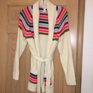 NWOT Forever 21 Striped Cardigan